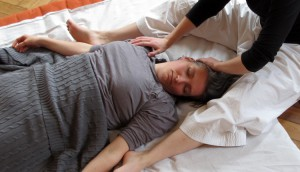 Hals- und Nackenmassage